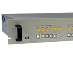 1RU dual terminated sp6t 1x6 switcher a/b 18GHz