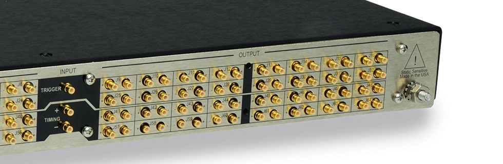 Digital Signal Distribution DDU32 Rear View