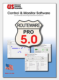 Routwarepro control and monitor software GUI ETL systems cytec cornet datachron apogee labs